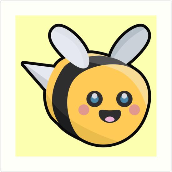 Kawaii Bee by NirPerel