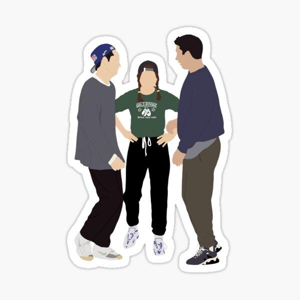 Rachel, Ross and Chandler Sticker