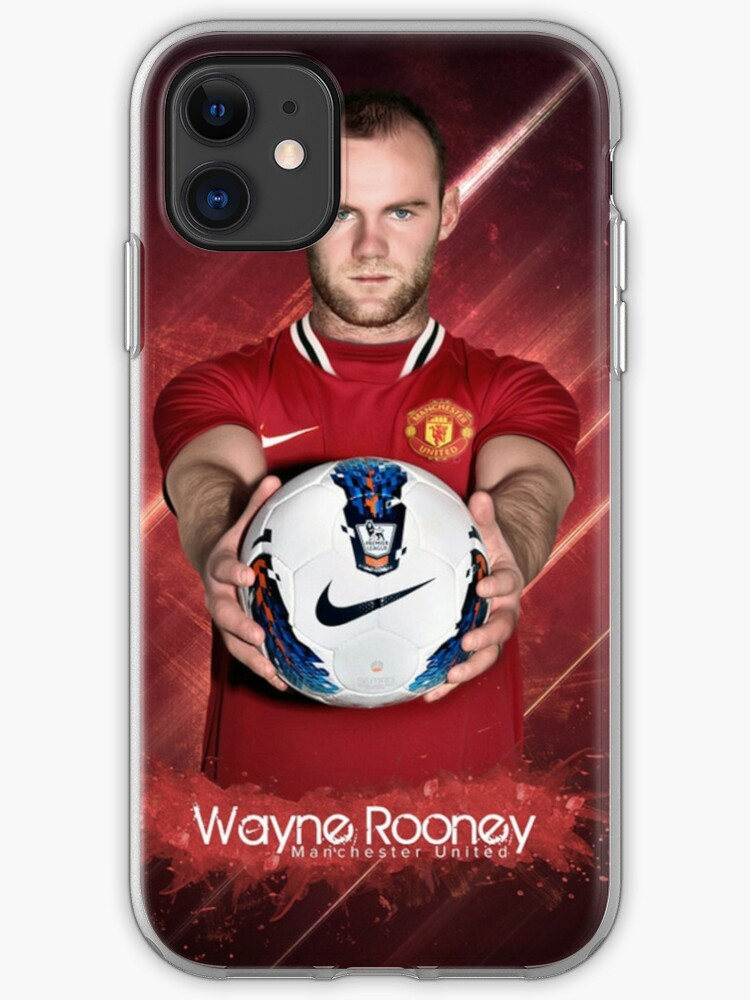 Rooney Wallpaper Iphone Case Cover By Manchudart Redbubble