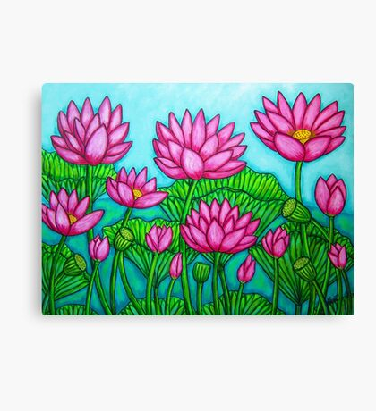 Lotus Bliss II Canvas Print
