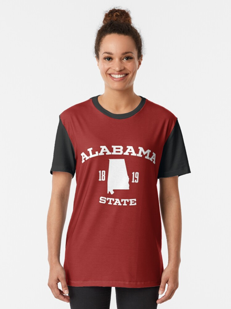 Alabama Yellowhammer State Heart of Dixie Cotton State Pride Mens V-neck T-shirt