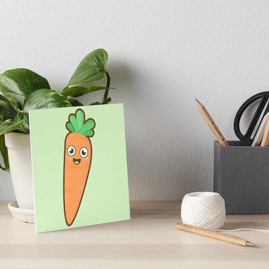 Kawaii Carrot by NirPerel
