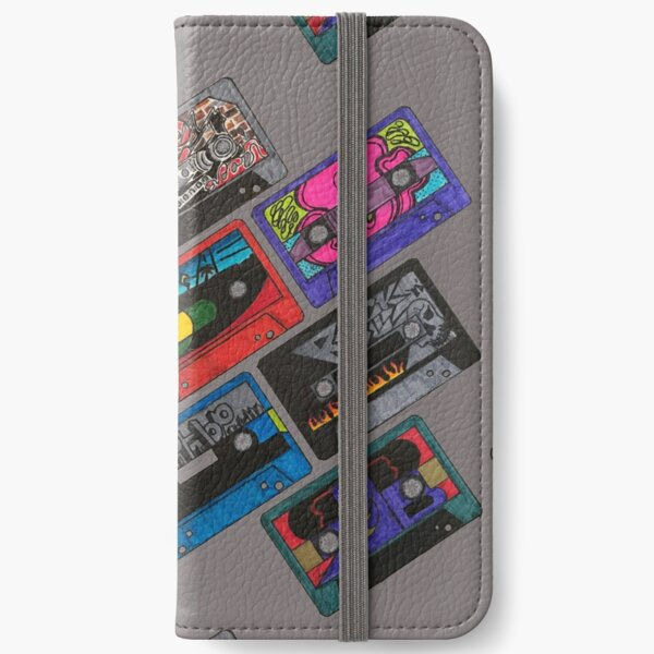 Cassette Tapes iPhone Wallet