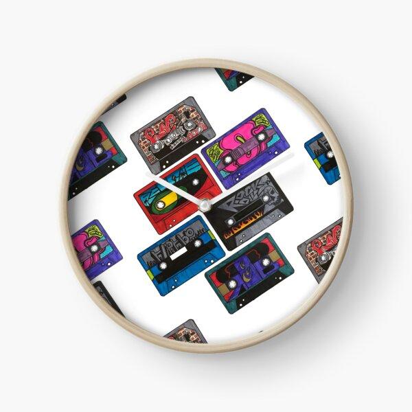 Cassette Tapes Clock
