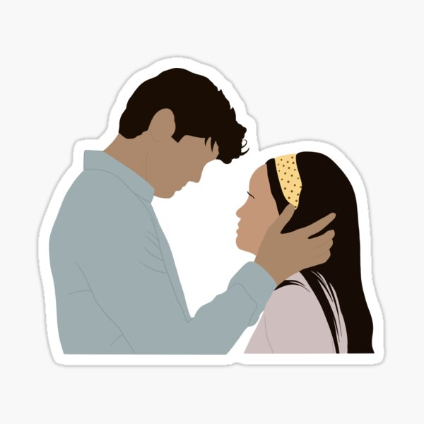 Peter and Lara Sticker