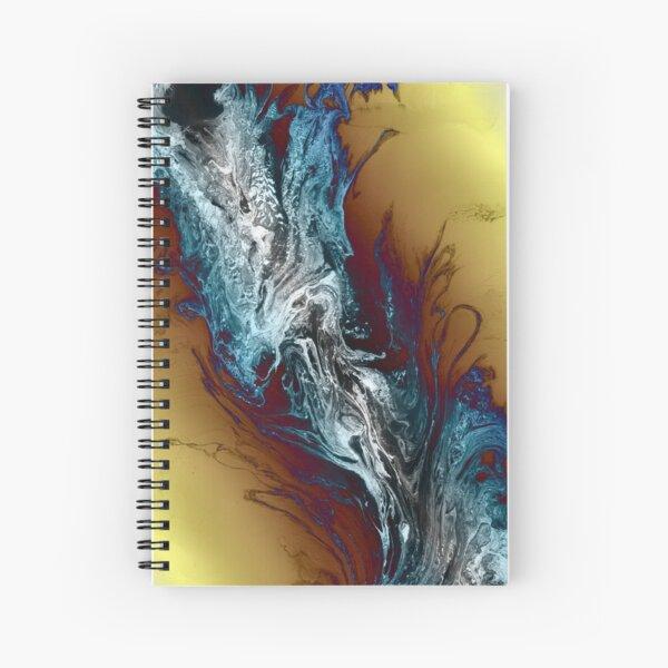 Cold Smoke Spiral Notebook