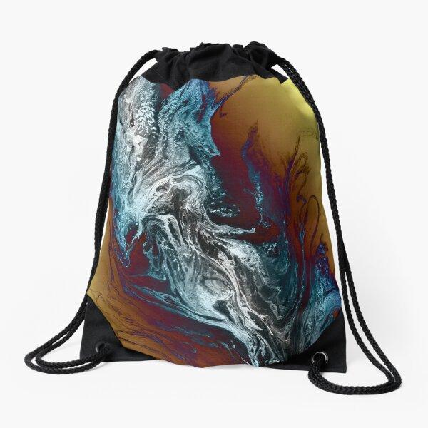 Cold Smoke Drawstring Bag