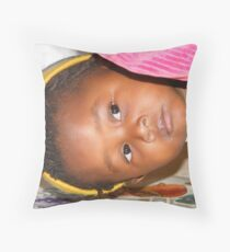 A Childs View - 3 Throw Pillow