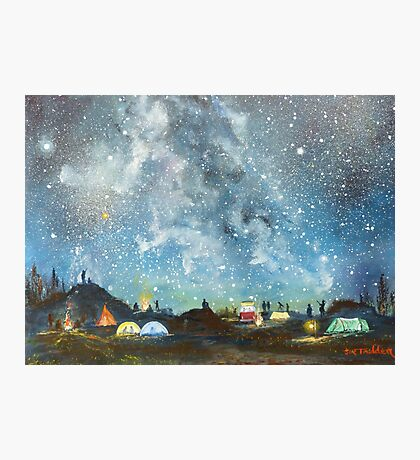 Stargazing Photographic Print