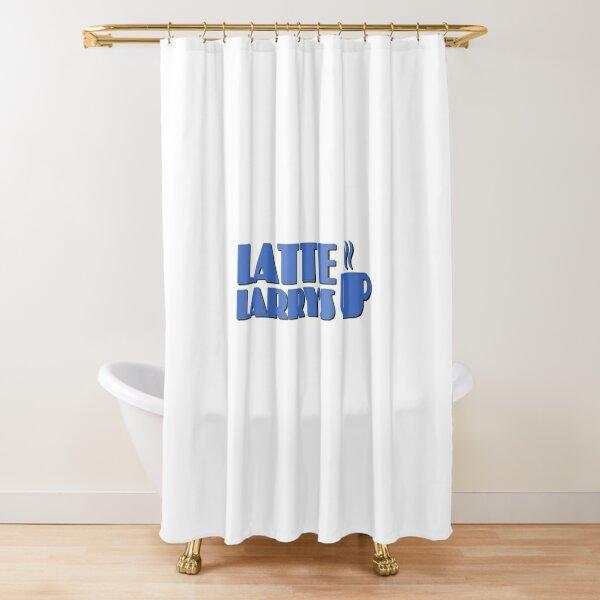 Latte Larry s Shower Curtain