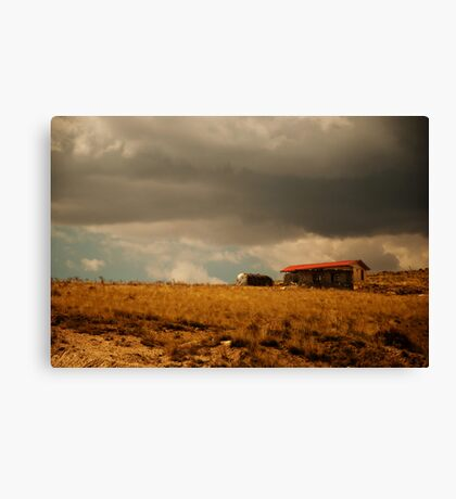 There Will Be Flood Canvas Print