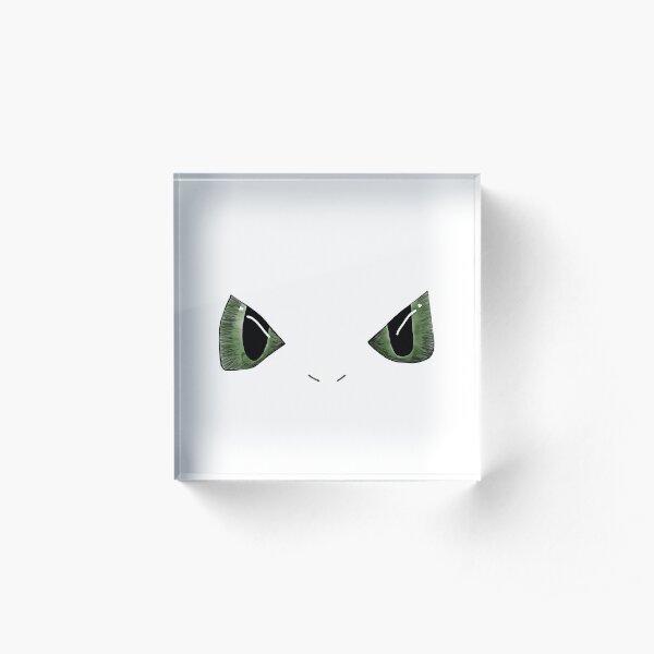 Dragon Eyes Acrylic Block