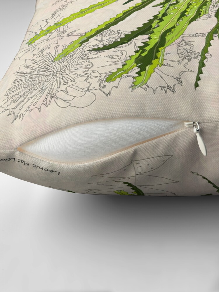 Alternate view of Banksia prionotes Design Mullewa Floor Pillow