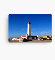 Lighthouse of La Serena Canvas Print