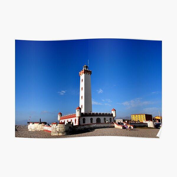 Lighthouse of La Serena Poster