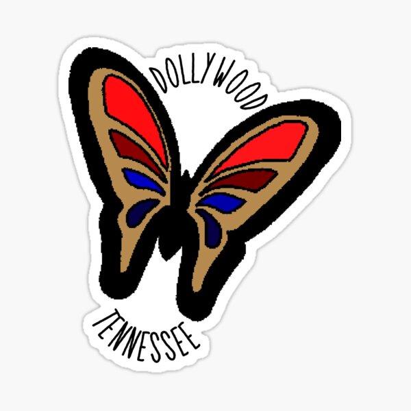 Dollywood Glossy Sticker