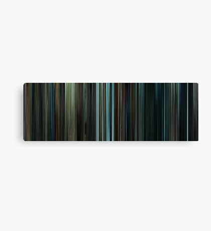 Moviebarcode: Harry Potter and the Prisoner of Azkaban (2004) Canvas Print
