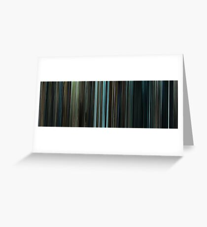 Moviebarcode: Harry Potter and the Prisoner of Azkaban (2004) Greeting Card