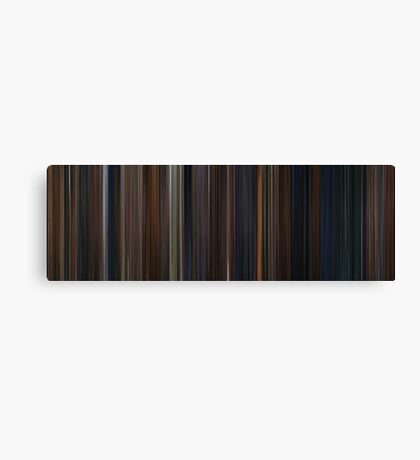 Moviebarcode: Harry Potter and the Chamber of Secrets (2002) Canvas Print