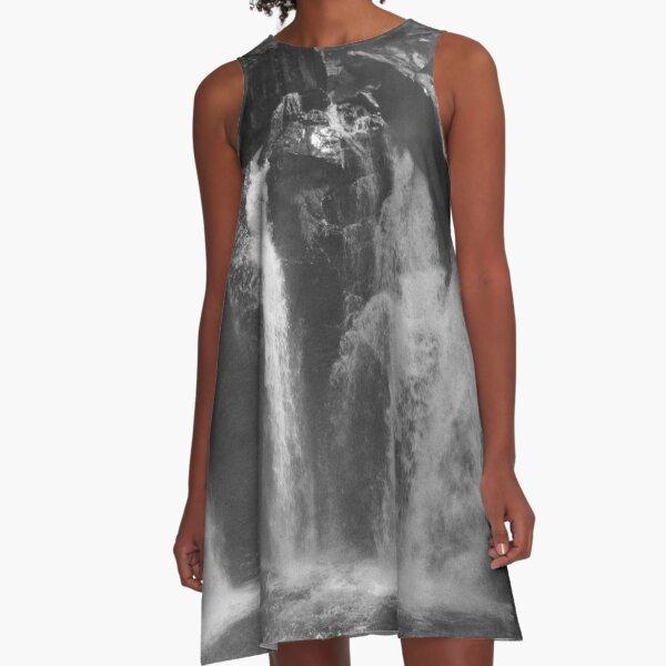 1998 Cascata di Lillaz A-Line Dress