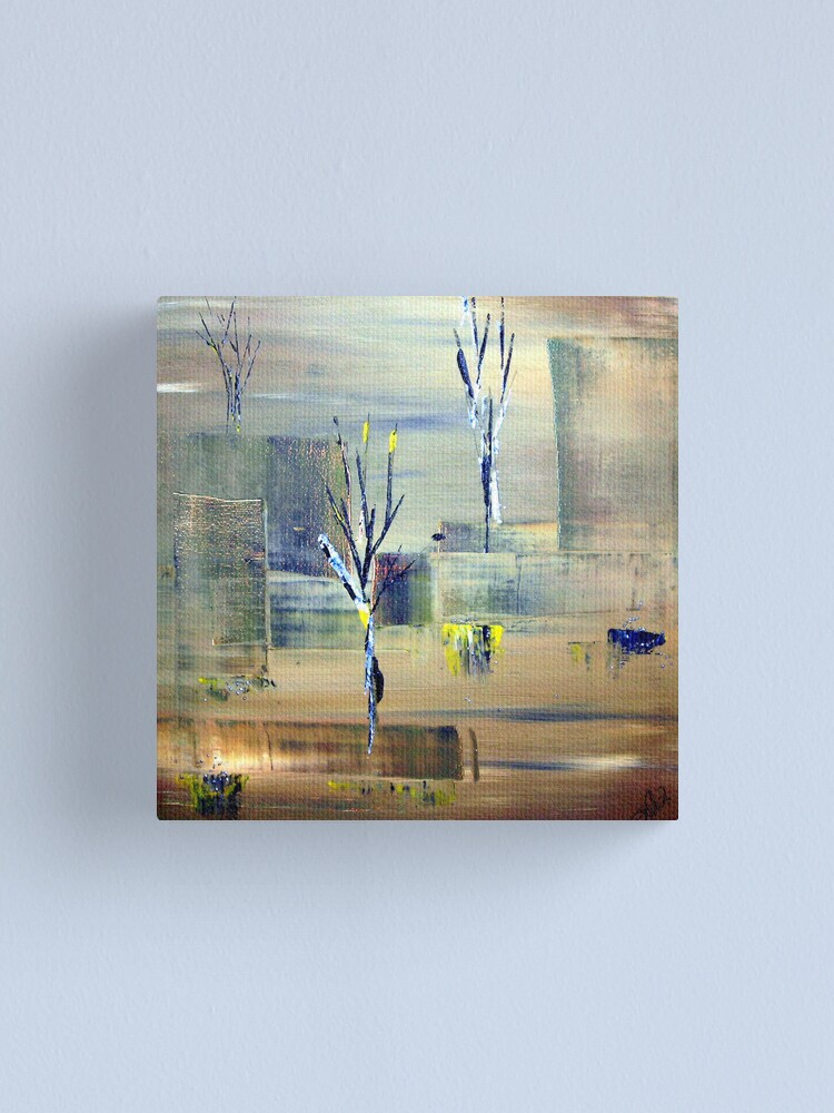 Alternate view of Green Trees Canvas Print