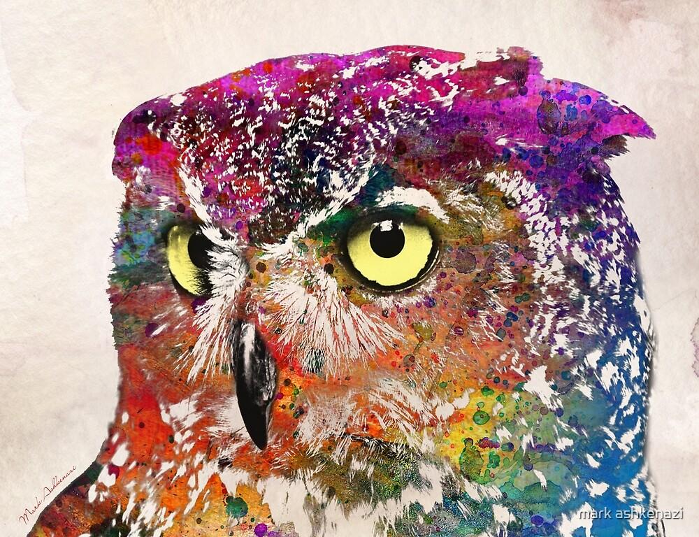 owl by mark ashkenazi