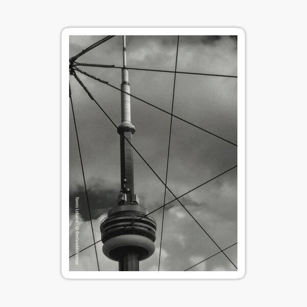 Wired city_Toronto By Yannis Lobaina  Sticker
