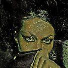 green EYES mystery by Kasia ikasia