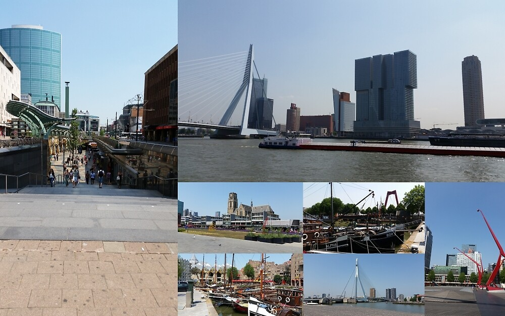 Photo collage Rotterdam 3  by kultjers
