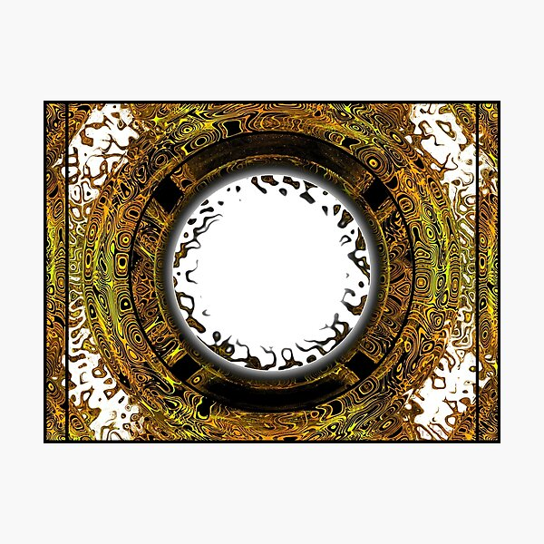 Abstract digital design Photographic Print