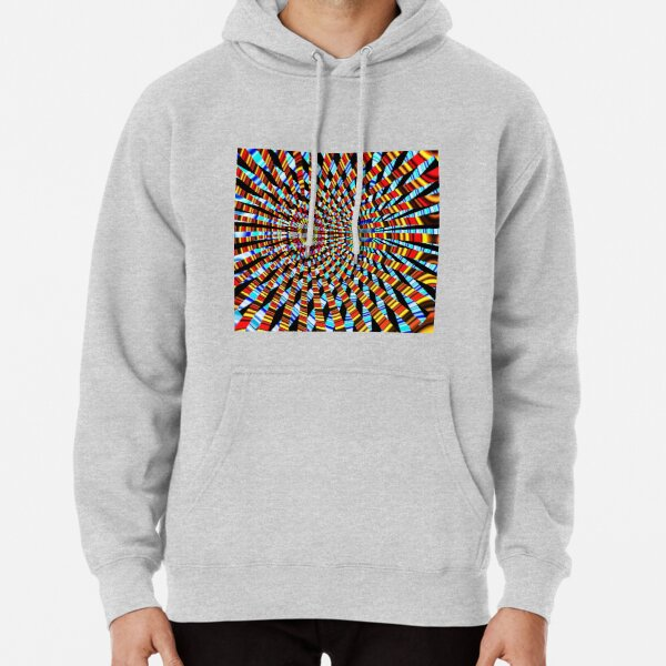 #Design, #abstract, #pattern, #illustration, psychedelic, vortex, modern, art, decoration Pullover Hoodie