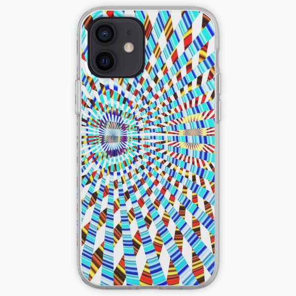 Phone Cases, #Design, #abstract, #pattern, #illustration, psychedelic, vortex, modern, art, decoration iPhone Soft Case