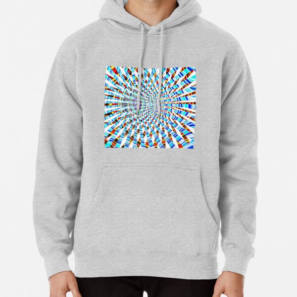 #Design, #abstract, #pattern, #illustration, psychedelic, vortex, modern, art, decoration Pullover Hoodie