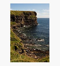 Standing at the Top of Scotland Photographic Print