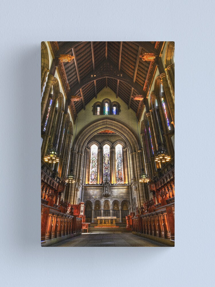 Alternate view of The Chapel Canvas Print