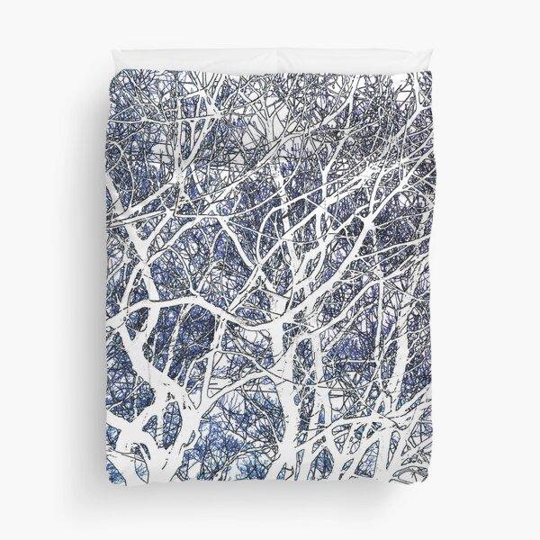 Violet forest Duvet Cover