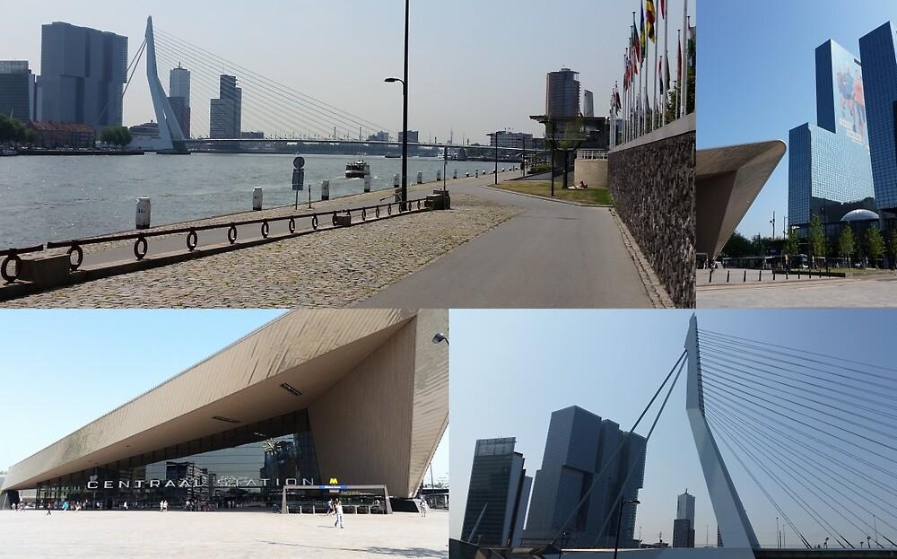 Photo collage Rotterdam 4 by kultjers