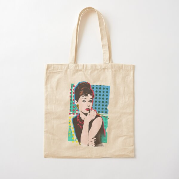 MARILYN MONROE BLACK COTTON SHOPPER TOTE BAG GLAM PIN UP 50/'S ICON CULT FIGURE