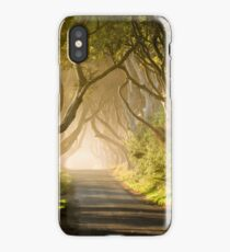 Magical Morning at the Dark Hedges iPhone Case/Skin