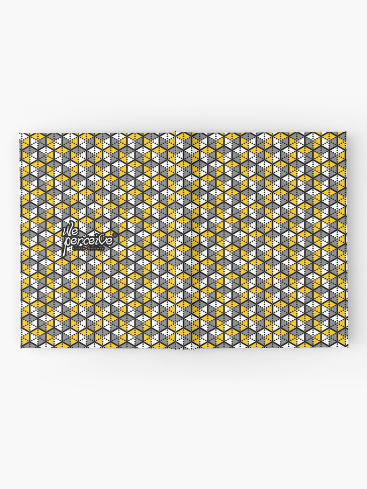 Alternate view of Geometric Cubes Hardcover Journal