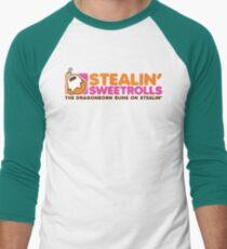 Stealin' Sweetrolls Men's Baseball ¾ T-Shirt