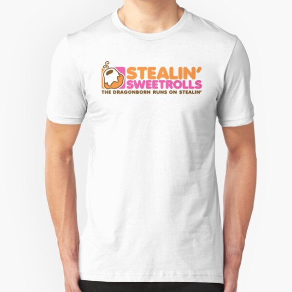 Stealin' Sweetrolls Slim Fit T-Shirt
