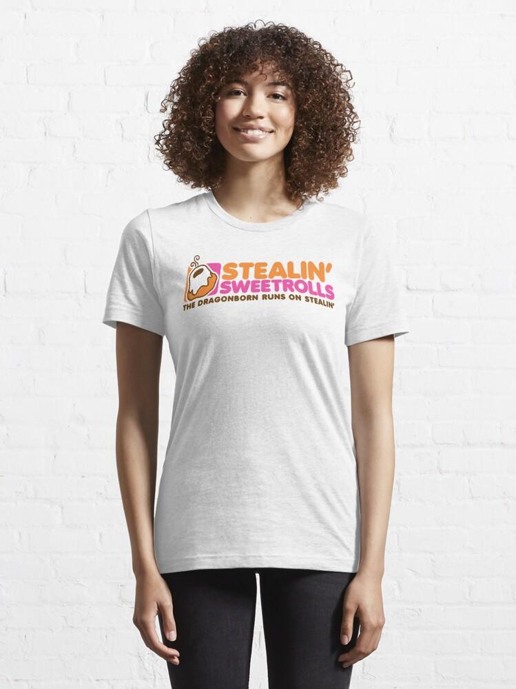 Alternate view of Stealin' Sweetrolls Essential T-Shirt
