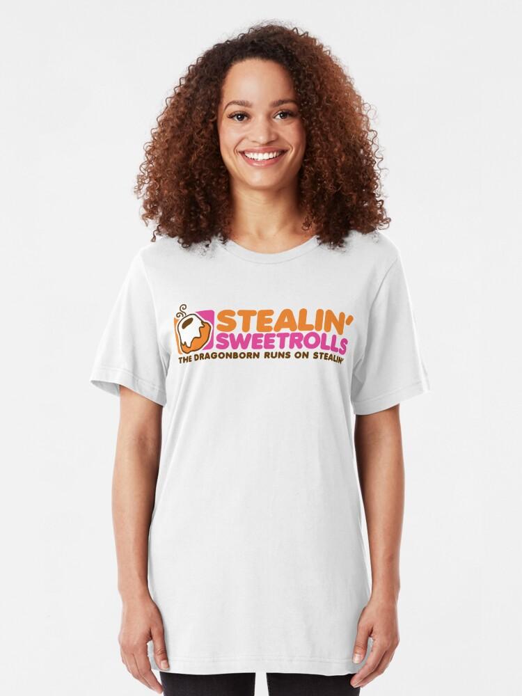 Alternative Ansicht von Stealin 'Sweetrolls Slim Fit T-Shirt