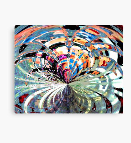 Fish in a Blender Canvas Print
