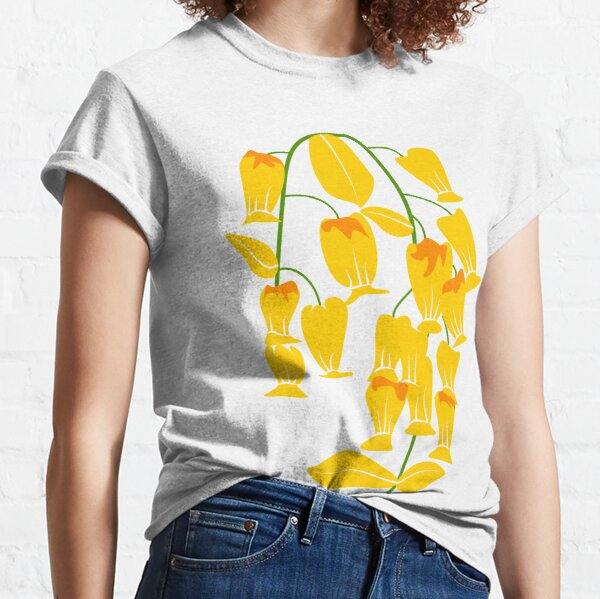 Bellflowers in Bloom Illustration Classic T-Shirt