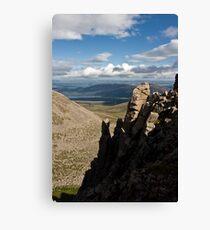 Loch Morlich from the ridge above Coire an t-Sneachda Canvas Print
