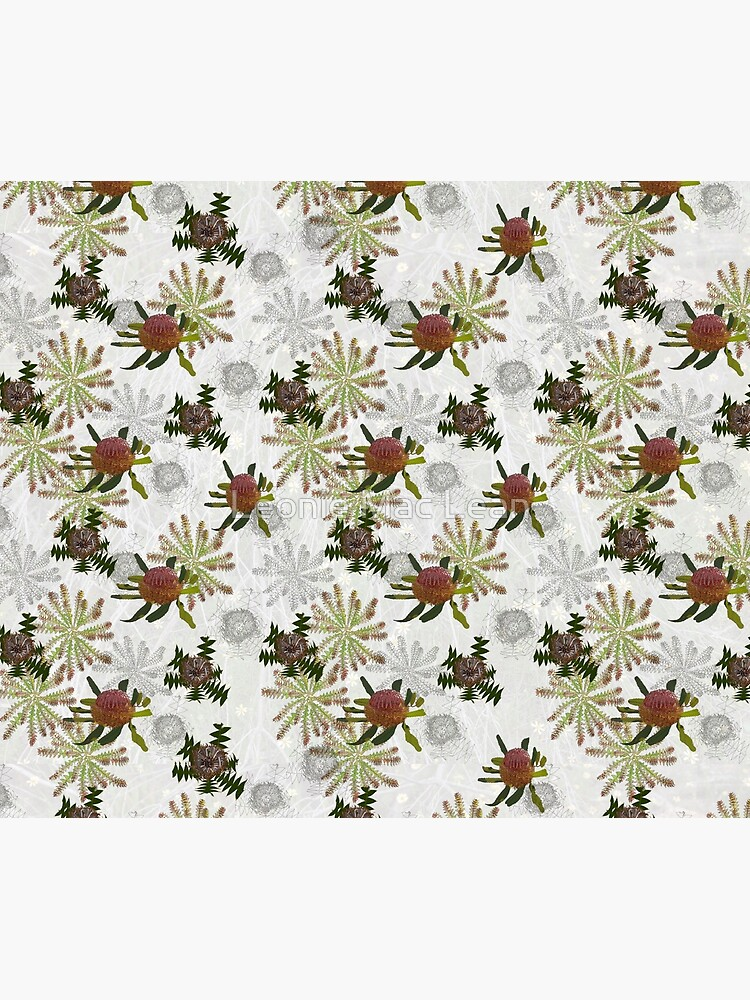Mixed Banksia Fabric Design for large items by yallmia