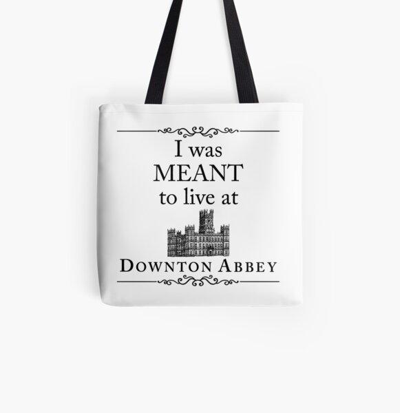 Je voulais vivre à Downton Abbey Tote bag doublé