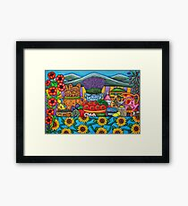 Flavours of Provence Framed Print